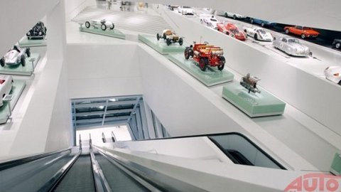 Prechádzka v múzeu Porsche je silný zážitok