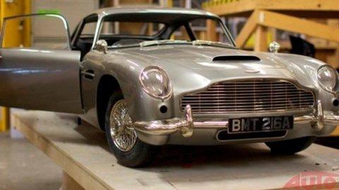 Aston Martin Jamesa Bonda vznikol v tlačiarni