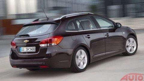 Chevrolet Cruze Station Wagon: Najharmonickejší