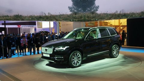 V Šanghaji debutuje najexkluzívnejšie Volvo všetkých čias