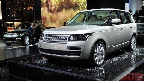 Range Rover schudol a opeknel