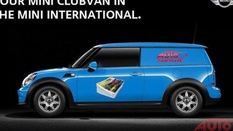 Navrhnite vizáž dodávky Mini Clubvan