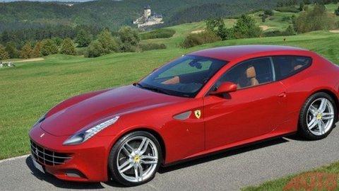 Test Ferrari FF objektívom Daniela Hlinku (veľká galéria)
