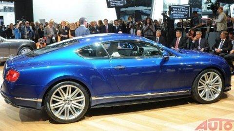 Najrýchlejší Bentley debutuje v Moskve
