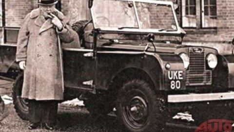 Land Rover Winstona Churchilla hľadá nového majiteľa
