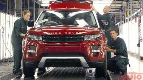 Range Rover Evoque nestíhajú vyrábať