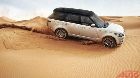 Nový Range Rover vraj ľúbi zákruty