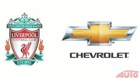Chevrolet oficiálnym partnerom Liverpool FC