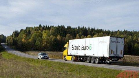 Ocenenie za systém Scania Active Prediction
