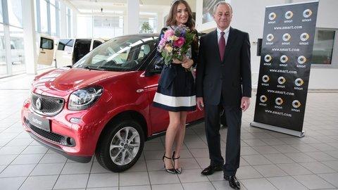 Miss Universe dostala nové auto