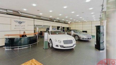 Bentley v Prahe