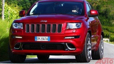 Vypočujte si ako znie 344 kW v Jeepe Grand Cherokee SRT8