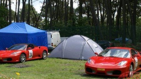Le Mans: Najexkluzívnejší autosalón sme našli v kempe