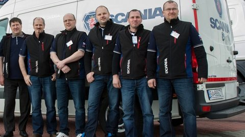 Scania Top Team 2015 – európske kolo bolo v Senci