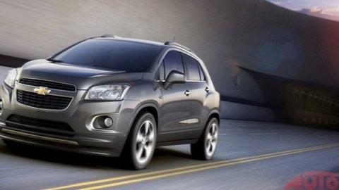 Chverolet Trax – preoblečený Opel Mokka
