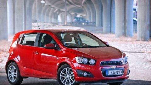 Chevrolet Aveo 1.6 16V (odblokované)