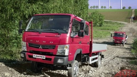 Canter s pohonom 4x4