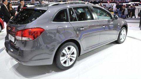 Ženeva 2012: Chevrolet má pekné kombi