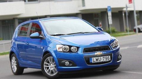 Chevrolet Aveo 1.4 16V: Dobré auto, až na motor