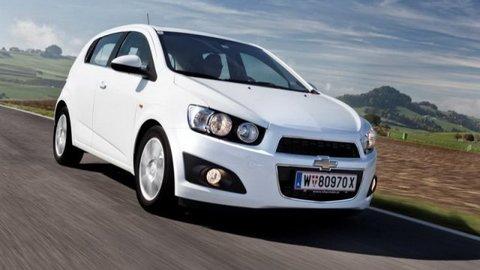 Chevrolet Aveo je najbezpečnejší malý automobil v Európe