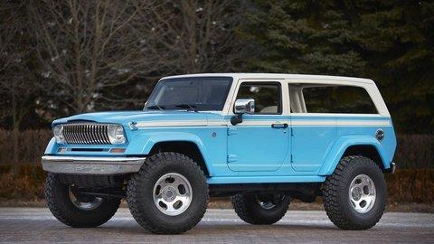 Jeep predstavil Chief inšpirovaný minulosťou a ďalšie koncepty