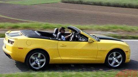 Chevrolet Camaro: Šprintér exhibicionista