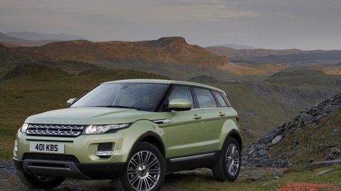 Range Rover Evoque: Talent na všetky povrchy