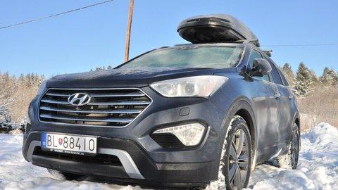 Hyundai Grand Santa Fe 2.2 CRDi: Lyžovačka v plnom obsadení