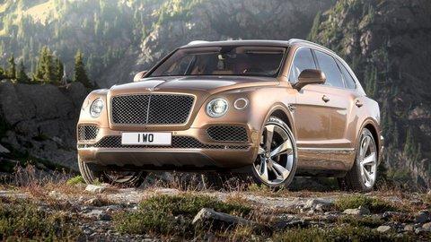 Bentley Bentayga už odhalili