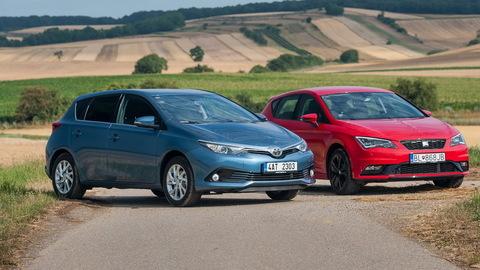 Toyota Auris vs. SEAT Leon: Z Toyoty Auris je vďaka turbu iné auto