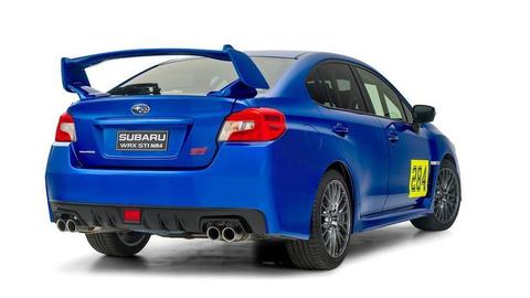 Pretekárske Subaru WRX STI NR4 rastie spolu s jazdcom