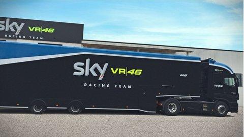Iveco pokračuje s tímom Sky VR46