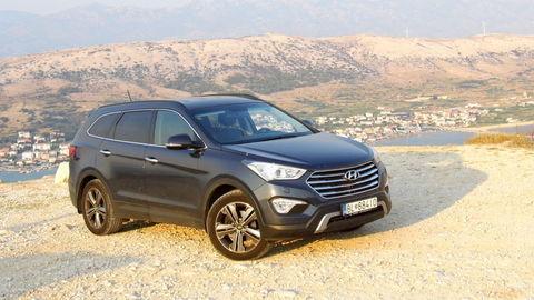 Hyundai Grand Santa Fe 2.2 CRDi: Rodinné auto ako inšpirácia