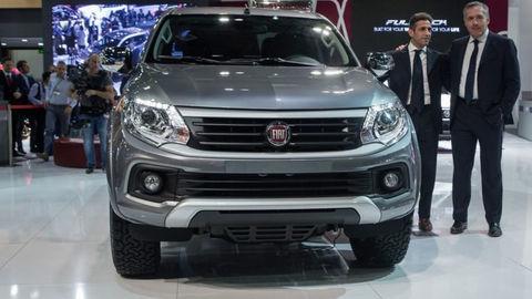 Pick-up Fiat Fullback debutuje v exotickom Dubaji