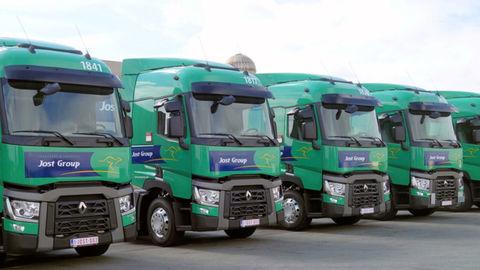 100 ťahačov Renault Trucks