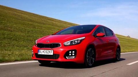 Kia cee'd facelift  1.6 CRDi a 1.0 T-GDI