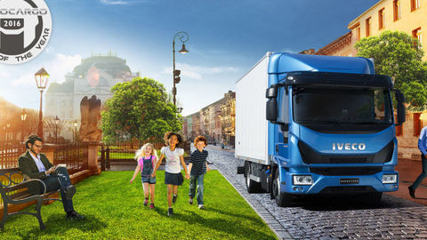 """Iveco Eurocargo je """"Truck of the year 2016"""""""