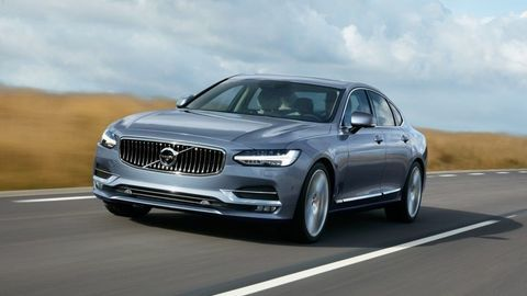 Volvo S90 už odhalili