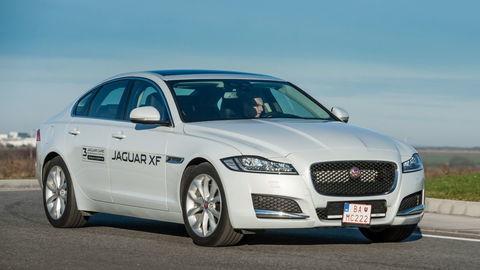 Jaguar XF 2.0 iD4: Klasický elegán z hliníka