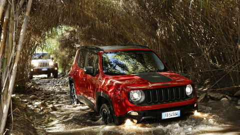 Jeep Renegade jazdy po Sicílii