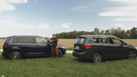 Test: BMW 2 Gran Tourer vs. Volkswagen Touran