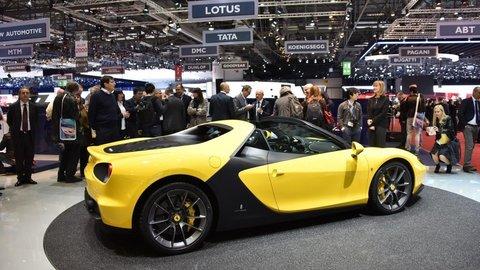 Z extravagantného konceptu je limitovaný roadster Ferrari