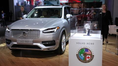 Severoamerické auto roka 2016 je Honda Civic a Volvo XC90