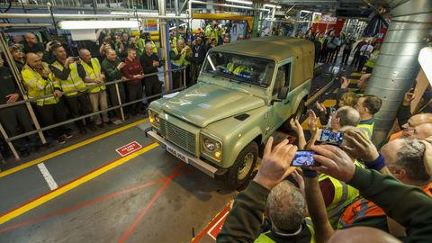 Land Rover Defender skončil
