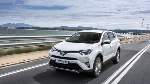 Toyota RAV4 Hybrid: Najšportovejšia RAV-ka