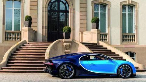 Veyron má nástupcu. Bugatti Chiron ženie dopredu 1500 koní
