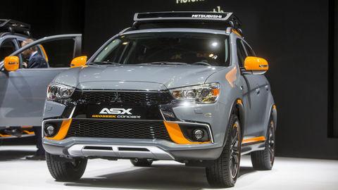Ďalší facelift pre Mitsubishi ASX