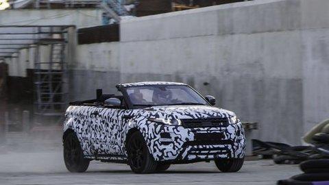 Range Rover Evoque Cabrio potvrdený
