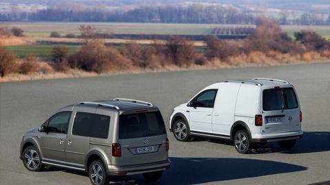 Volkswagen Caddy Alltrack: Konkurent pre SUV