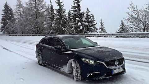 Mazda6 Wagon CD150 MT AWD: Absolvovali sme cestu do Ženevy aj snehovú búrku pod Mont-Blancom